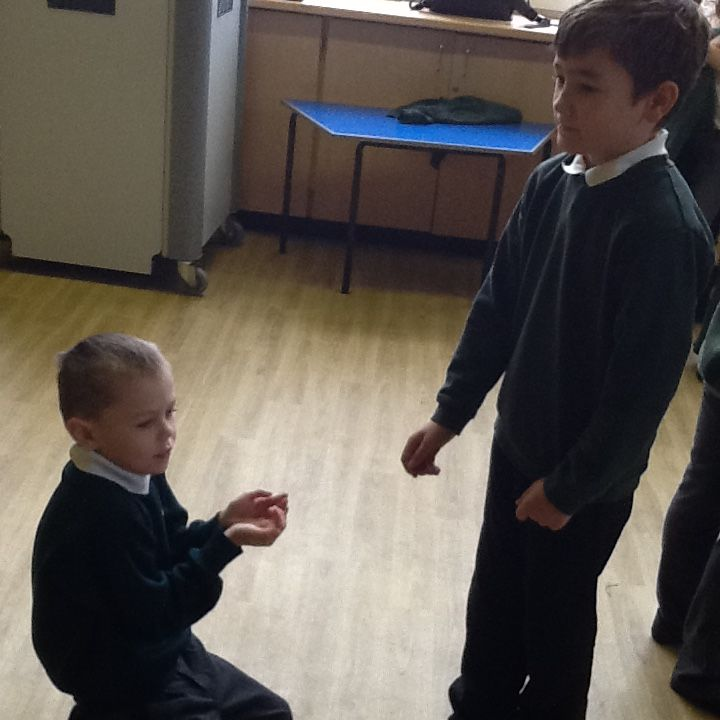Our Tudor drama workshop